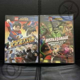 LEGO Supeheroes DVD Bundle