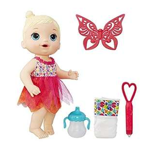 🚚 *In Stock* BN Baby Alive Face Paint Fairy Interactive Doll Set with Accessories (Blonde)