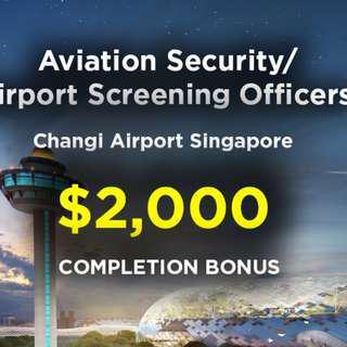 Airport Screening Officer Changi Airport