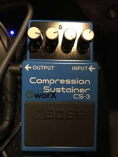 Boss CS 3 Compressor modded