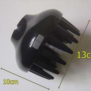 吹風機護髮熱風罩 吹整烘美髮風罩 組合式可拆卸變短風罩~