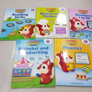 Scholastic Activity Books for K2