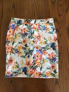 Small Floral Forever 21 Skirt!