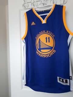 Golden State Warriors #11 Thompson Jersey