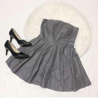 Leather Tube Dress