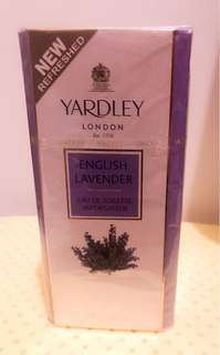 Emglish Lavender Yardley Parfume