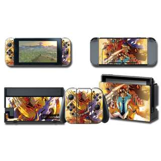 Nintendo Switch Decal Skin Digimon Wargreymon