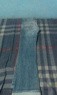 Cutbray denim,jeans (not selvedge)