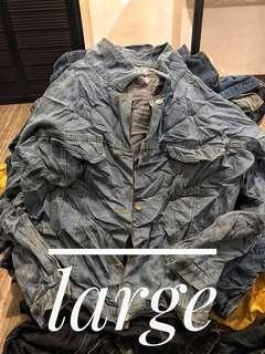 Preloved jackets