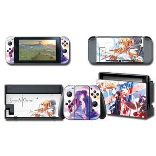 Nintendo Switch Decal Skin Sword Art Online SAO 1