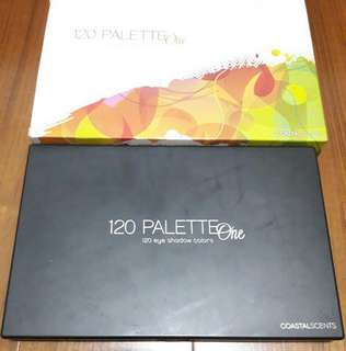 🚚 coastal scents 120 palette one 1號 眼影盤
