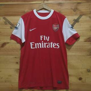 arsenal home 2010-2011 jersey original