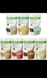 Herbalife 營養蛋白素-曲奇/朱古力味