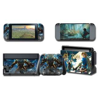 Nintendo Switch Decal Skin Zelda Breathe of the Wild
