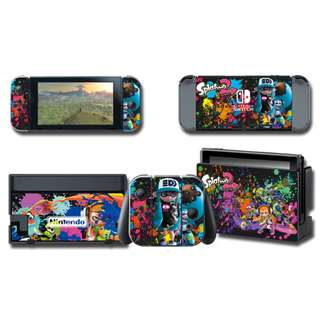 Nintendo Switch Decal Skin Splatoon
