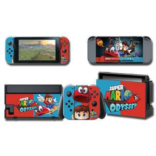 Nintendo Switch Decal Skin Mario Odyssey 2