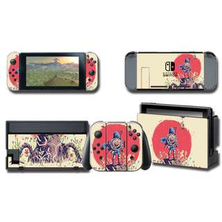 Nintendo Switch Decal Skin Zelda Link