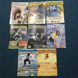 revolution skateboarding magazine
