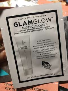 Glamglow clearing cream-to-form cleanser 2.5g
