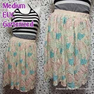 Floral pastel skirt