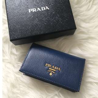 prada card holder 卡片包 / 卡套