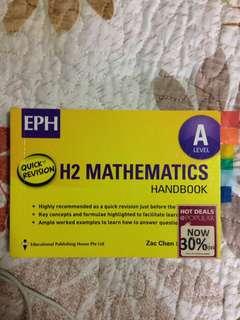 H2 Math handbook