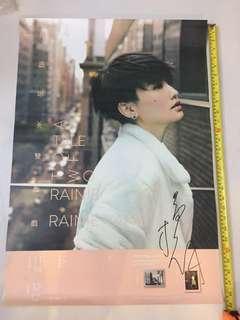 Rainie Official Autographed Poster 楊丞琳 雙丞戲 親筆簽名海報 From Taiwan