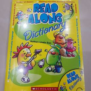 Scholastic Read Along Dictionary Bundle Set