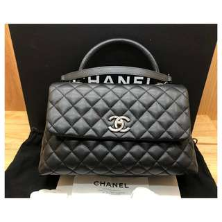 Authentic Chanel Coco Medium Flap