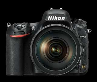 NIKON D750 DSLR + KIT LENS 24-120MM CASHBACK RM500