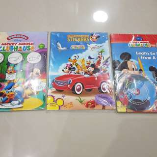 Mickey Mouse Activity Books