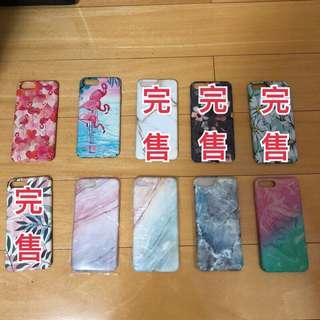 🚚 iphone 7 plus 7+ 蘋果 手機殼 硬殼 軟殼 保護殼 清新 大理石紋 葉子 火鶴鳥 紅鶴 花
