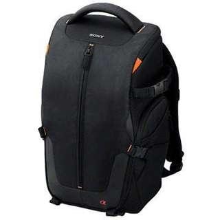 SONY 時尚雙肩背包 LCS-BP2 可裝含一機一鏡 兩顆鏡頭與額外配件