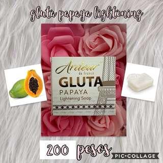 Gluta Papaya Lightening Soap