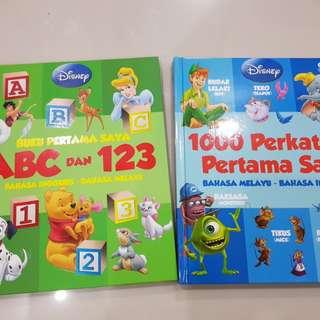 Disney English-Malay Books