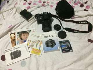 Canon EOS Kiss X7 Lens Kit EF-S18-55mm / EF-S55-250mm KISSX7-WKIT from Japan