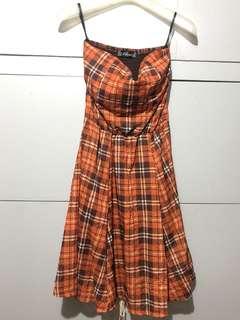 Lhasa Checkered Dress