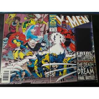 X-Men #25 (Wolvie's Adamantium removed)