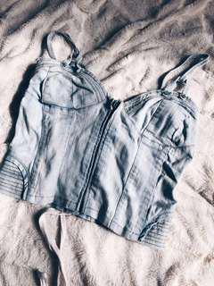 Vintage Jean Top