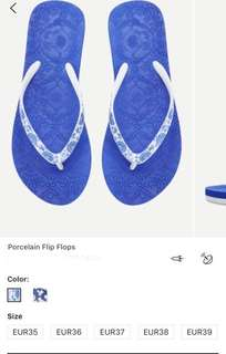 吹氣頸枕 porcelain flops