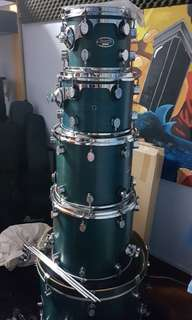 Pdp mx series 6 pc drum set shell pack