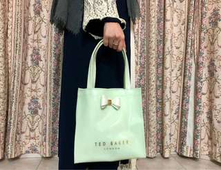 Original Green Ted Baker Small Tote Bag(with defects)