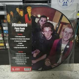 "Limited Edition THE DAMNED 'Pure Punk 1977-1982' 12"" picture vinyl LP"