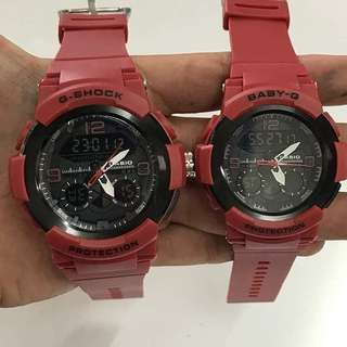 Gshock Couple Set Grade AAA