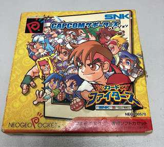 NEO GEO POCKET COLOR CARD FIGHTER