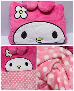 My melody 2in1 pillow and blanket