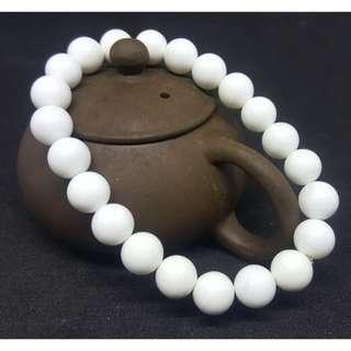 🚚 結緣價 促銷款 硨磲 天然有機寶石 手珠 唸珠 供佛 8mm