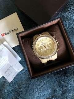 Michael kors Gold Horn Watch