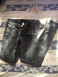 *Price Drop* H&M Salt and Pepper Jeans