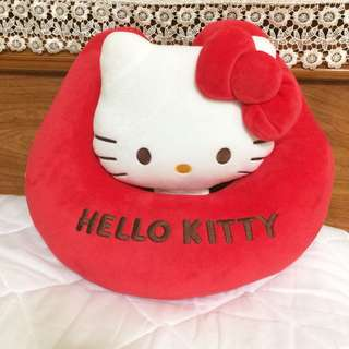 Hello Kitty 創意小抱枕 午安枕 頸枕 兩用款